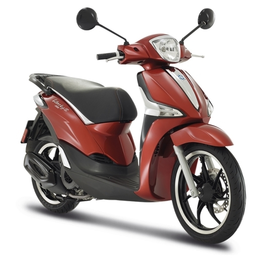 Liberty S 125 ABS - Rosso Ibis