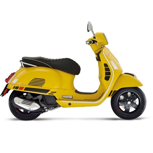 GTS SUPERSPORT 125 4V ABS - Giallo